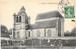 MONT L'EVEQUE : L'EGLISE - Frankreich
