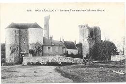 MONTEPILLOY : RUINES DU CHATEAU - Frankreich