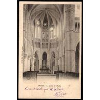 51 - ORBAIS L'ABBAYE (Marne) - Le Choeur De L'Eglise - France