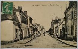 49 023  CORNE  Rue De La Gare - France