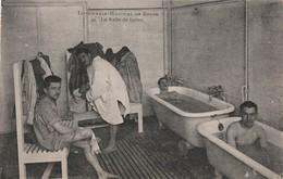 CPA:HOMMES DANS BAIGNOIRE SALLE DE BAINS INFIRMERIE HÔPITAL DE SPIRE ALLEMAGNE...ÉCRITE - Duitsland