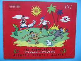 Sylvain & Sylvette N°11 1955 Alerte! Alerte! Alerte! - Sylvain Et Sylvette