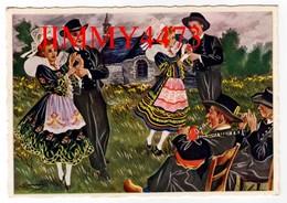 CPM Dentelées - BANNALEC 29 Finistère - Danse, BAL A DEUX Bien Animée - Charles Homualk - N°94 - Edit. GABY  Artaud - Bannalec