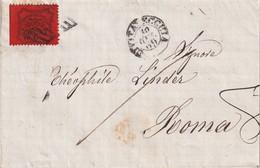 ITALIE ETATS PONTIFICAUX 1869 LETTRE POUR ROMA - Stato Pontificio