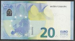 2015-BILLETE DE 20 EUROS-SIN CIRCULAR-V006D4 - 20 Euro