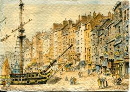 N°5205 T -cpsm Illustrateur Barday -Honfleur- - Barday