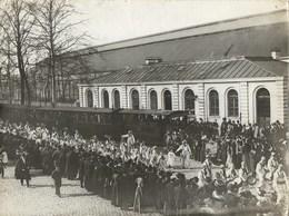 NAMUR -  La Gare Et Tram - Photo Ancienne - Namur