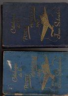 2 Catalogues  Silombra De Poste Aerienne Et De Tout Ce Qui S'y Rapporte Ed 1944 ( 2 Ieme Ed ) + 1945 ( 3 Ieme Ed) - France