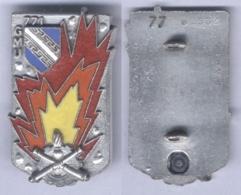 Insigne Du 771e Groupement De Munitions - Matriculé - Army