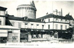 N°5219 T -cpa Saumur -la Gendarmerie- - Police - Gendarmerie