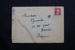 FRANCE / ALLEMAGNE - Enveloppe De Rodern Pour La Belgique En 1943 Avec Contrôle Postal - L 55619 - Alsace Lorraine
