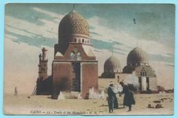 1211 - EGYPTE - CAIRO - TOMBS OF THE MAMELUKS - 1919 - Kairo