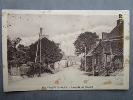 Cpa 35 Village De CAMPEL Kampel Ille Et Villaine (fusion Avec Maure De Bretagne Val D'anast ) L'arrivée De Mavent 1952 - Sonstige Gemeinden