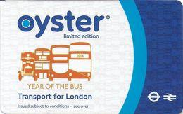 CARTE TRANSPORT METRO AUTOBUS TRAMWAY TRANSPORT LONDRES ROYAUME-UNI CARTE EDITION LIMITÉE THE BUS - Biglietti Di Trasporto