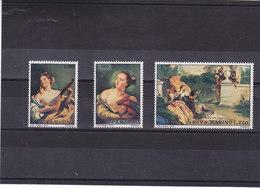 SAINT MARIN 1970 TIEPOLO PEINTURES Yvert 766-768 NEUF** MNH - San Marino