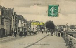 29 Concarneau, Quai D'Aiguillon, Visuel Pas Très Courant - Concarneau
