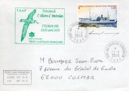 T.A.A.F /ENVELOPPE AVEC TIMBRE N° 558 - Terres Australes Et Antarctiques Françaises (TAAF)