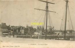 22 Paimpol, Cp Pionnière (avant 1904) Un Coin Du Quai, Visuel Pas Courant - Paimpol