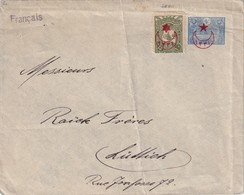 TURQUIE LETTRE DE BEIRUT POUR LIEGE - Cartas