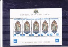 SAINT MARIN 1977 Saint Marin BLOC Yvert 949 NEUF** MNH - Neufs
