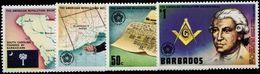 Barbados 1976 American Revolution Unmounted Mint. - Barbados (1966-...)