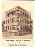 De Panne Villas Odimar Odilon Et Caroline Boulevard De Nieuport Appartements Français - De Panne