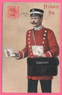 Cp Système 10 Vues - Leporello - Hilsen Fra Kobenhavn - København - Facteur - Postman - Ed. STENDERS - 1910 - Multivues - Dänemark
