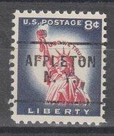 USA Precancel Vorausentwertung Preo, Locals New York, Appleton 703 - Etats-Unis