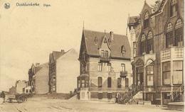 OOSTDUINKERKE : Digue - RARE VARIANTE - Cachet De La Poste 1933 - Oostduinkerke
