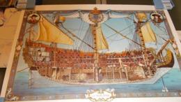Le Soleil Royal 68cm Sur 47 Cm Dedicace Auteur Et Jacques Martin N° 145/300 - Autographed