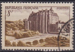 Tourisme - FRANCE - Chateau De Chateaudun - N° 873 - 1950 - Used Stamps