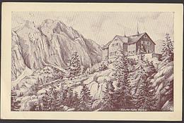 SCHWAZ (Tirol) Sonnenwendgebirge Erfurter Hütte Hüttenstempel Am Achensee  Feldpost 1944 - Ohne Zuordnung