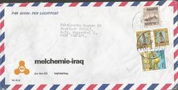 IRAQ AIR MAIL LETTER TO GERMANY 13.02.80.. - Iraq
