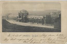 Mons.   -   La Gare  1900   Naar   Paris - Stazioni Senza Treni