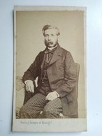 CDV LE HAVRE - Portrait Homme - Favoris - Circa 1860/1870 - Photo  Feulard - BE - Photos