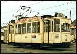 TRAM BE - Motorrijtuig Type 6000 - Voiture De Tramway Type 6000 - Non Circulé - Not Circulated - Nicht Gelaufen. - Cartes Postales