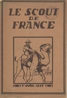 """Revue """"LE SCOUT DE FRANCE"""" : 1er Juin 1927. - Scouting"""