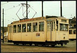 TRAM BE - Motorrijtuig Op Draaistellen Type 7000 - Voiture De Tramway à Bogie Type 7000 - Non Circulé - Not Circulated. - Cartes Postales