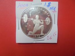 SAMOA 1$ 1976 ARGENT (A.2) - Samoa