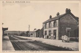 4--4-----criel Sur Mer--touffreville---76--la Gare ---livraison Gratuite - Criel Sur Mer
