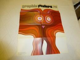 JAN LENICA, Graphis Posters 73, SUISSE, Affiche Ancienne ORIGINALE  ; AFFI03 - Affiches