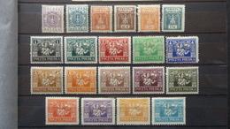 Polen 1922 Fischer Kat. Nr. 144 – 163 / Ungebraucht Mit Falz / Voll Gummi / Sauber - Unused Stamps