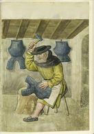Fabricant Armurier; Entièrement Doublé Médiévale - Tapis & Tapisserie