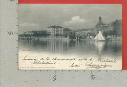 CARTOLINA VG SVIZZERA - NEUCHATEL - Editeur Comptoir De Phototipie 1826 - 9 X 14 - 1901 - NE Neuchâtel