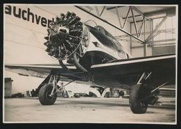 FOTO  17 X 12 CM  SWISSAIR    LOCKHEED ORION 9 C   2 SCANS - 1946-....: Modern Era