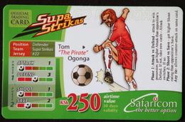 "Mobile Phonecard Kenya ""Supa Strikas"" Tom Ogonga - Kenya"