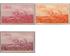 Ref. 623821 * HINGED * - ITALIAN LIBYA. 1940. 1 TRIENAL EXHIBITION OF ITALIAN TERRITORIES . 1 EXPOSICION TRIENAL DE TERR - Libia