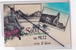 Souvenir De Metz (57) Et Du 2ém Génie ( Caserne Chambiére -la Nouvelle Gare ) - Metz