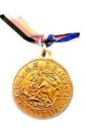 GILLES DE CHIN 1137.BERLAIMONT - KLOTTEN .1973.médaille 37 Mm. - France