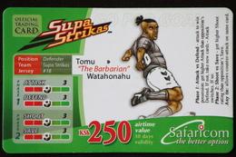 "Mobile Phonecard Kenya ""Supa Strikas"" Tomu Watahonahu - Kenya"
